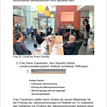Information über das Vernetzungstreffen der Magdeburger Stiftungen am 23.10.2020